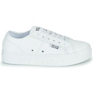 VERSA JEANS COUTURE – SNEAKERS in Pelle Colore BIANCO