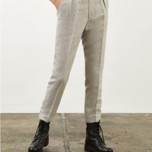DONDUP Modello CARLIE Pantalone Con Pinces Colore AVANA