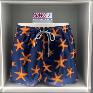 MC2 SAINT BARTH – COSTUME GUSTAVIA ACQUATA Stella Colore Blu