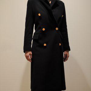 TAGLIATORE –  Cappotto doppio petto JOLE/C colore NERO