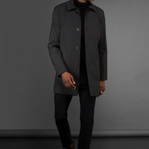RRD – Thermo Trench Wool Coat colore Blu