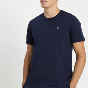 """""""POLO RALPH LAUREN"""" – T-shirt Mezza Manica in cotone colore BLU con ricamo"""