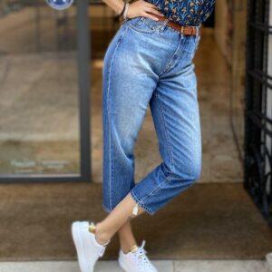 """DON THE FULLER"" Jeans LIPSIA boyfiend scatolina in tela denim Stretch"