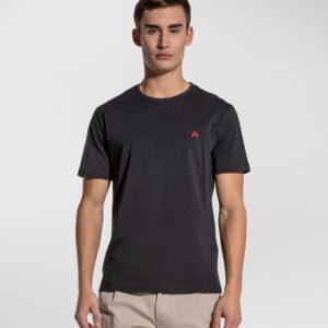"""""""PEUTEREY"""" T-shirt MANDERLY a mezze maniche in cotone colore NERO"""