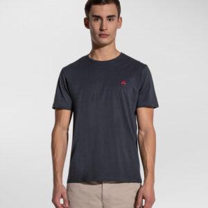 """PEUTEREY"" T-shirt MANDERLY a mezze maniche in cotone colore BLU"
