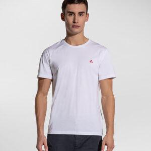 """PEUTEREY"" T-shirt MANDERLY a mezze maniche in cotone colore BIANCO"