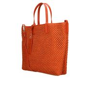 """MY BEST BAGS"" Borsa Shopping in rafia colore ARANCIO"