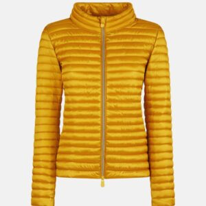 """SAVE THE DUCK"" Biker ALICE in minitraputa ultra light in colore ORO"