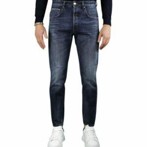 DON THE FULLER Jeans BOSTON sartoriale cimosato in tela Denim Kurabo giapponese