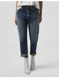 """DONDUP"" Jeans Loose KOONS, bottoniera gioiello colore Blu"