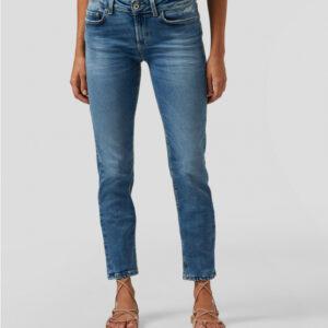 """DONDUP"" Jeans MONROE skinny in denim eco stetch lavaggio medio"