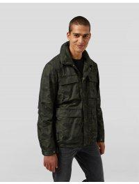 DONDUP – Field Jacket in nylon camouflage