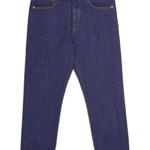 "PENCE – Jeans ""LUKINO"" Baggy in Denim Scuro no wash"