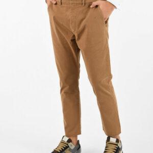 """PENCE – Pantalone """"baldo"""" in cotone colore kakhi"""